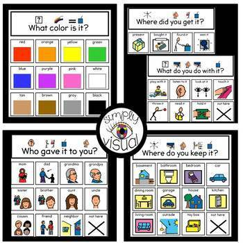 Show and Tell Interactive Visual Supports