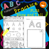 Alphabet Letter Practice {Made Simple} + Show and Tell + B