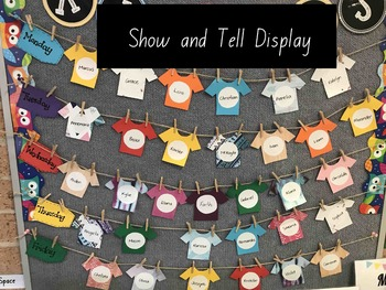 Show and Tell/News Display