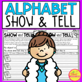 Show and Tell Notes for Alphabet  Letter of the Week Series