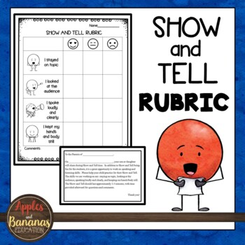 Show and Tell Rubric (Speaking)