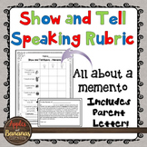 Show and Tell Speaking Rubric (Memento)