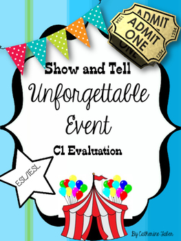 Show and Tell- Unforgettable Event-Intensive English-Modals