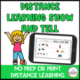 Show and Tell for Distance Learning with Zoom and Google M
