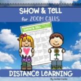 Show and Tell for Zoom Calls and Google Meetings - Distanc
