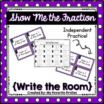 Fraction Write the Room