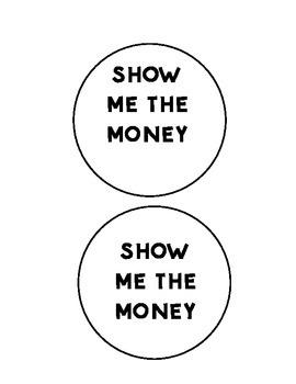Show me the Money- Canadian Money Flip Chart