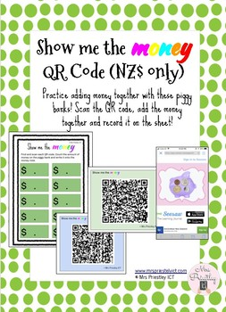 Show me the money (QR Codes) - NZ$ only
