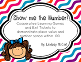 Show me the number! {Place Value and Number Sense to 100}