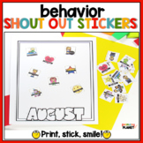 Show off stickers: Sticky Brag Tags: Incentives for classr