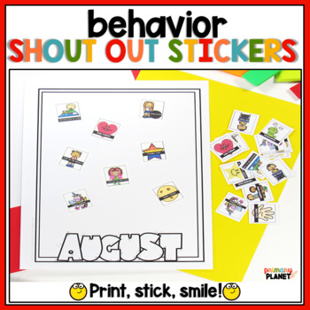 Shout Out Stickers Sticky Brag Tags