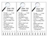 Show the Evidence - Book Marks - Common Core