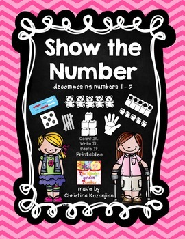 Show the Number 1 - 5