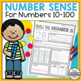 Number Sense Worksheets to 100 Number of the Day 1st Grade Place Value NO PREP