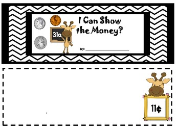 Show the money mini book
