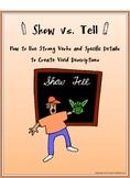 Show vs. Tell: Description and Detail