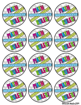 FREEBIE: Show your Swag! Motivational buttons for math & science