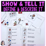 Show Tell Share Define Describe It  How to Guides with Visual Cues