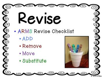 Showcase Writing Process Anchor Chart