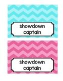Showdown Captain Team Card