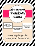 Showdown FREEBIE