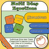 Showdown: Solving Multi-Step Equations