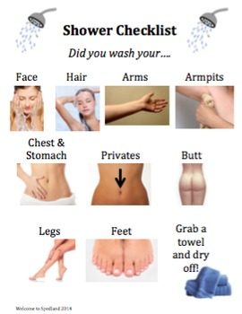 Shower Checklist Bundle