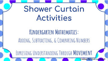Shower Curtain Activities: Adding, Subtracting, and Comparing Numbers