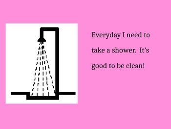 Shower Social Story