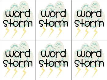 Shower of Sight Words Set #3