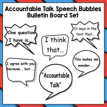 Accountable Talk  *Bundle*
