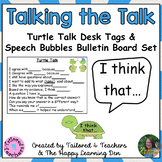 Accountable Talk Desk Tags and Bulletin Board Set (Set 1)
