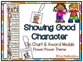 Showing Good Character Clip Chart & Award Medals | Groovy