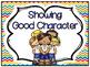 Showing Good Character Clip Chart & Brag Tags | Rainbow Chevron