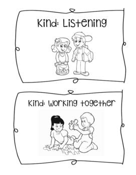 Showing Kind Behavior Mini Book