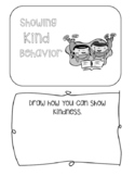 Showing Kind Behavior Mini Book