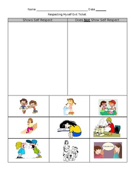 Showing Respect Activities (editable)