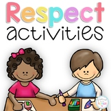Character Education Respect Activity Pack