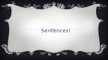Showing Sentences