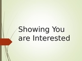 Social Skills - 'Showing You Are Interested' PowerPoint