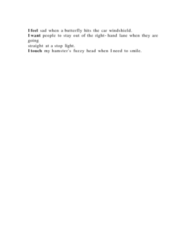 Showing-not-Telling Poem Activity (voice + literary allusions)
