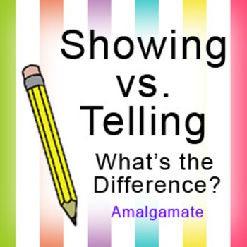 Showing vs. Telling: Powerpoint Lesson
