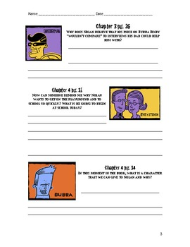 Shredderman: Secret Identity Reading Response Packet