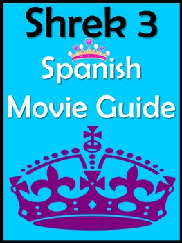 Shrek 3 Movie Guide in Spanish (42 pages)