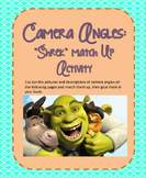Shrek Camera Angles Match Up Activity