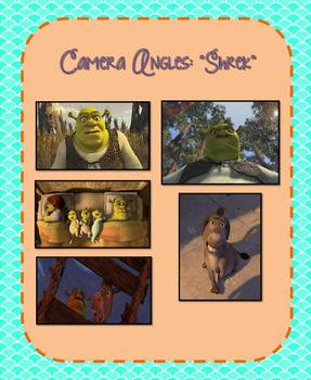 Shrek Camera Angles Match Up Activity
