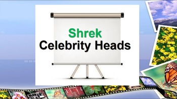 Shrek Celebrity Heads Interactive Game!