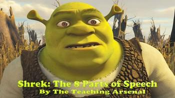 Shrek & The 8 Parts of Speech