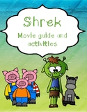 Shrek movie questions, activities, etc.
