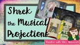 Shrek the Musical Projections